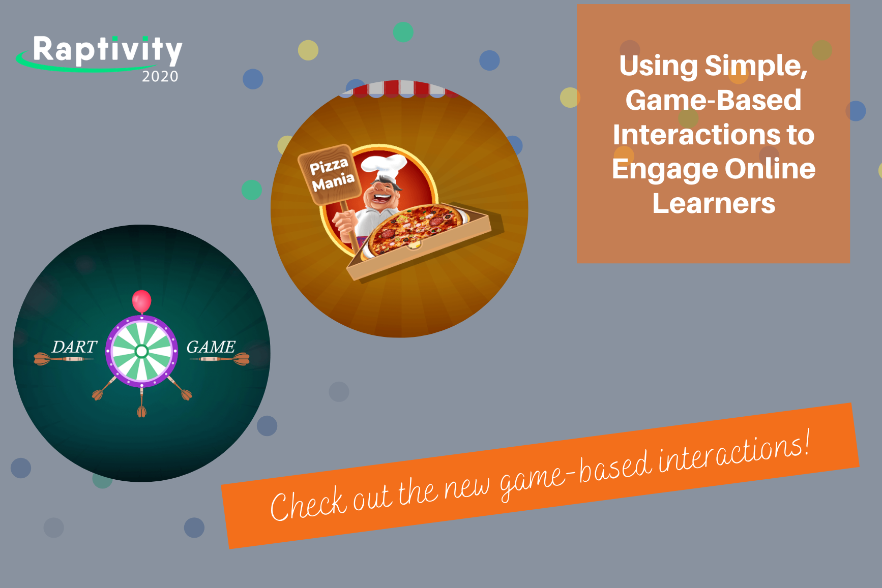 Using Simple, Game-Based Interactions to Engage Online Learners